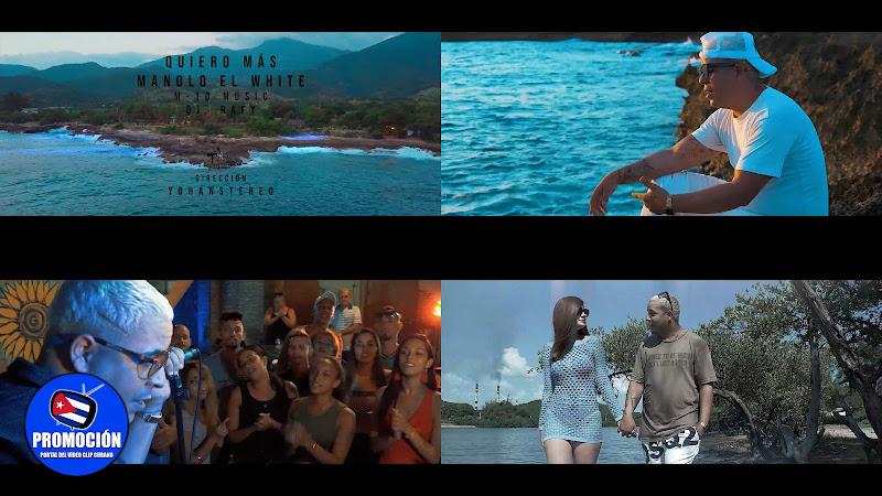 Manolo el White - ¨Quiero más¨ - Videoclip - Director: YohanStereo. Portal Del Vídeo Clip Cubano. Música cubana. Reguetón. Cuba.