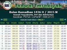 Download Jadwal Imsakiyah Puasa Ramadhan 1440 Hijriyah/ 2019 M di Indonesia