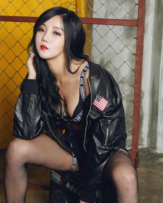 Kim Go Eun cewek cantik dan skeis bibir tipis merah dan hot