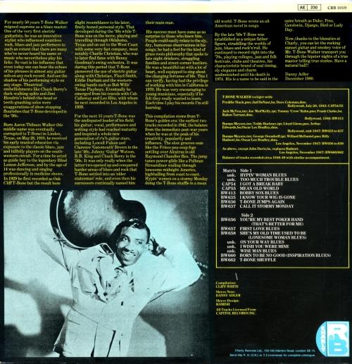 T-Bone Walker - Stormy Monday The Very Best Of T Bone Walker