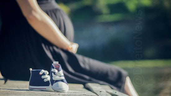 mulher indenizada meses bebe morto barriga