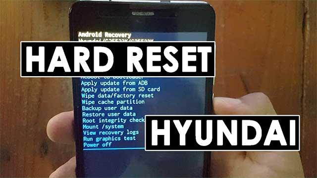 resetear | hard reset Hyundai G25523K
