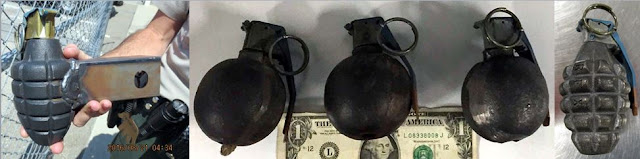 Discovered inert grenades image