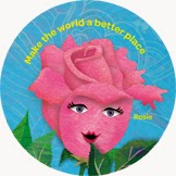 All Things Girl Scouts: Rosie: Make the World a Better Place - Light Pink  Petal
