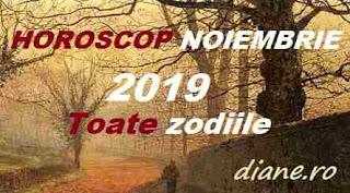 Horoscop noiembrie 2019 pentru toate zodiile