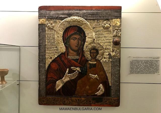 icono ortodoxo Museo Arqueológico Sofía Bulgaria