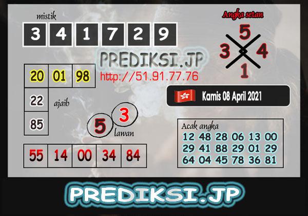 Prediksi JP HK Kamis 08 April 2021
