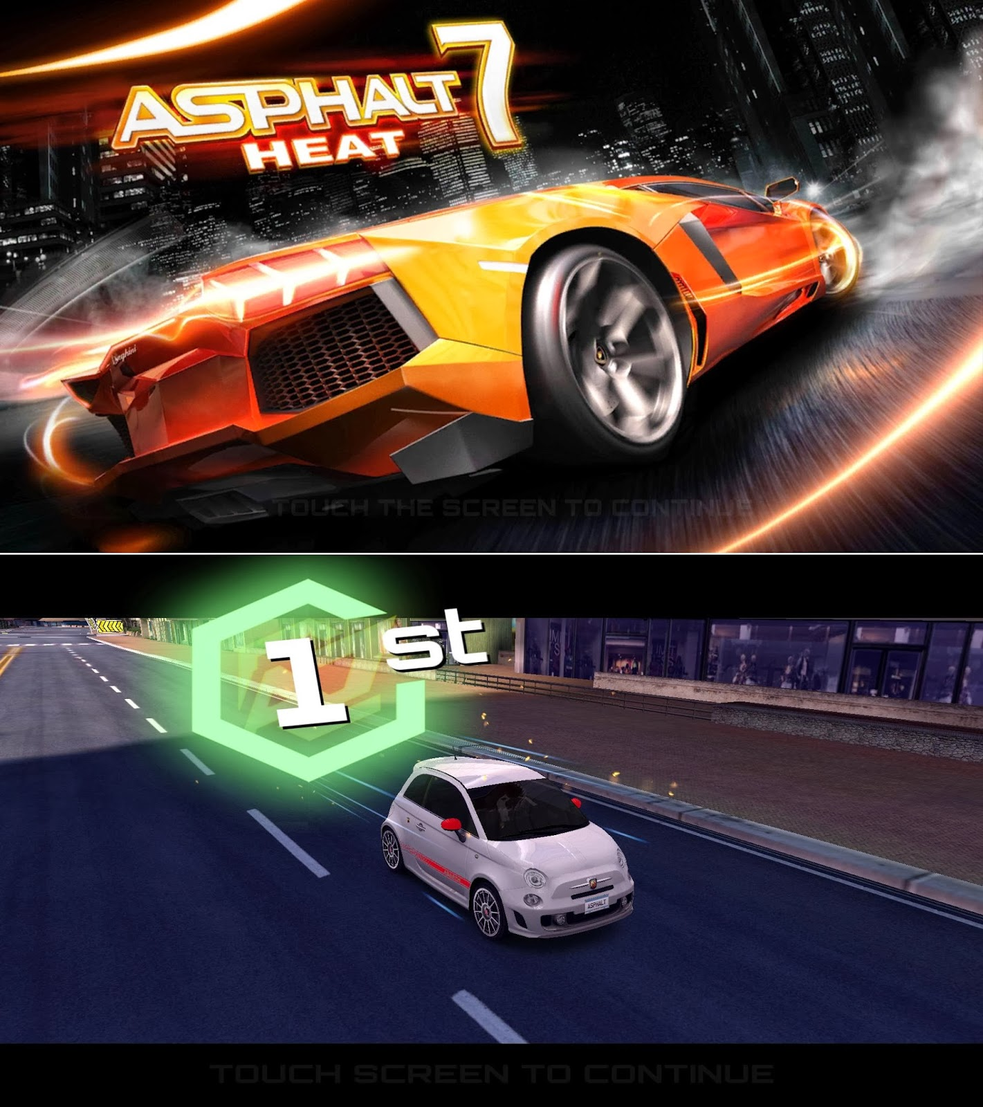 O+ USA Imagine Asphalt 7