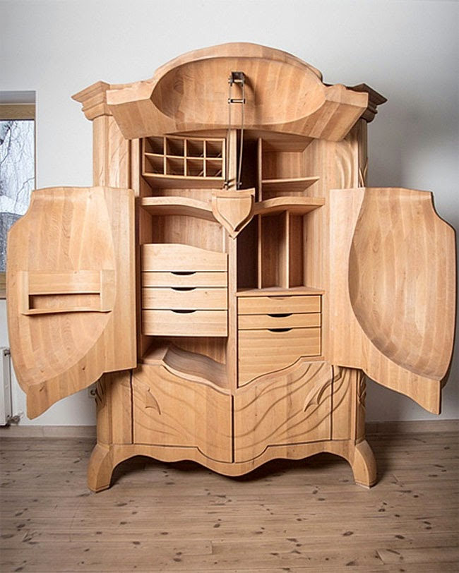 Cool Art Deco Kitchen Cabinets: Very Few Things Are As Unique As This Beetle Cabinet