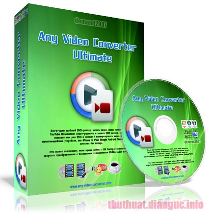 Download Any Video Converter Ultimate 6.3.3 Full Crack