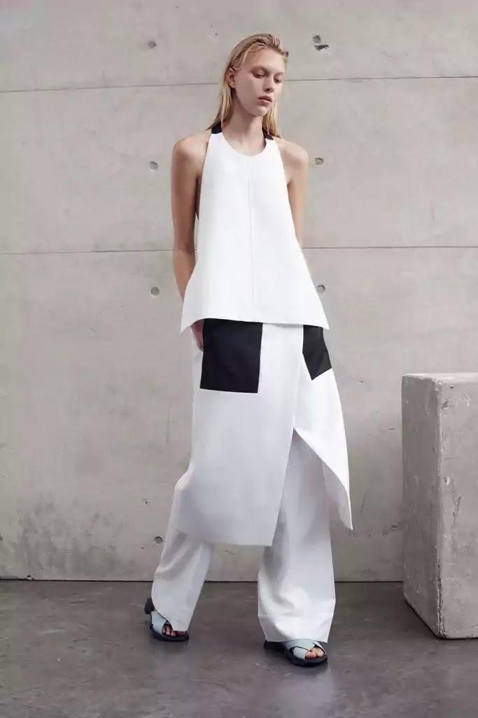 avant-garde style woman