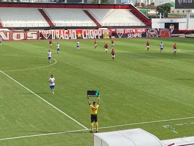 Atlético goleia o Sinop-MT e garante vaga nas quartas de final da Copa Verde