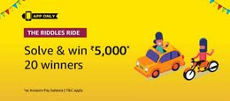 Amazon The Riddle Rides Quiz Answer- Win Rs.5000