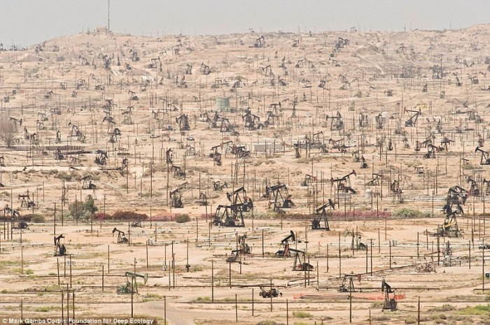 20 Pictures That Prove That Humanity Is In Danger - To the last drop: an oilfield in California and the merciless overexploitation of humans