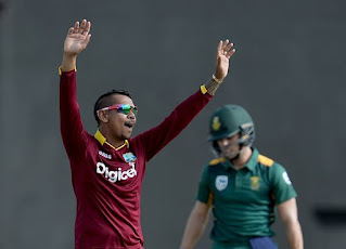 West Indies vs South Africa 1st Match Tri-Nation Series 2016 Highlights