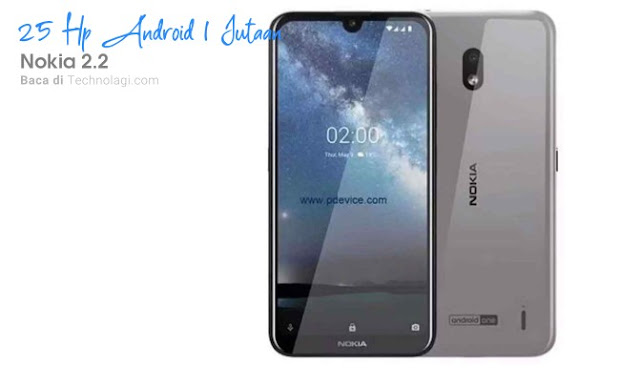 harga terbaru Nokia 2.2 2020