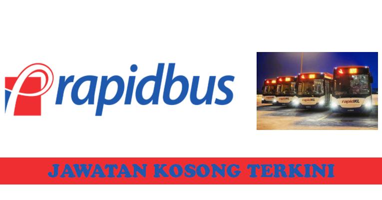 Kekosongan terkini di Rapid Bus Sdn Bhd