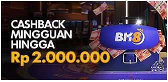 Cashback Mingguan 10% (Rp. 2000.000)