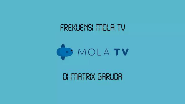 Frekuensi Mola TV di Matrix Garuda