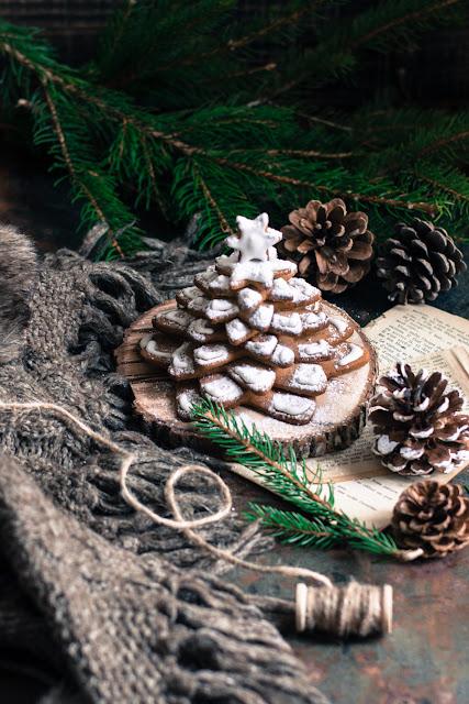 Sapin de Noël gingerbread cookies