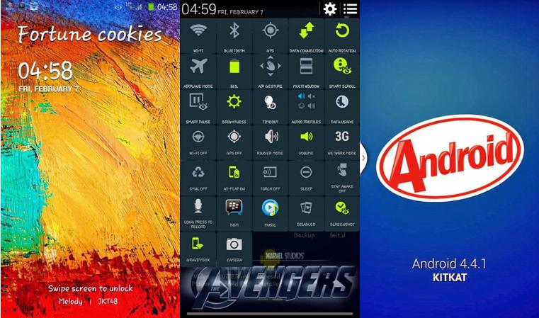 (CUSTOM ROM) Merubah Cross A7S Jadi Rasa Samsung Galaxy ...