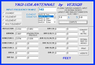 Yagi Uda Antennas by ve3sqb
