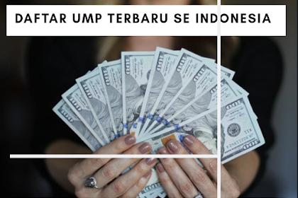 Inilah Besaran UMP 34 Provinsi di Indonesia Terbaru