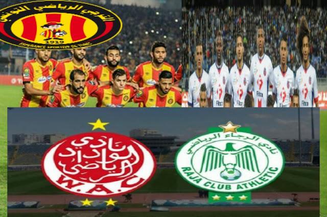 ديربي منتظر بين الوداد والرجاء في كأس محمد السادس والترجي يعود للمغرب