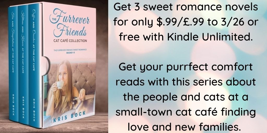 3 sweet romance novels for only 99 cents! Get the Cat Café Collection on sale now. #Romance #SweetRomance #ContemporaryRomance #MFRWorg