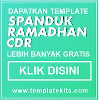 Iklan Template Spanduk Ramadhan CDR