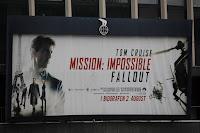 Mission Impossible Fallout Werbung in Kopenhagen