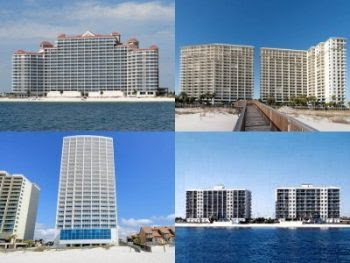 Gulf shores Vacation Rental Homes By Owner, Crystal Shores, Lighthouse, Beach Club, Seawind, Royal Palms, The Colonnades, Island Royale, Surfside Shores Condos