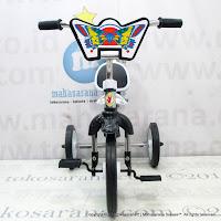 Sepeda Roda Tiga BMX Yoe Yoe CP-S Chrome Pernekel Sandaran