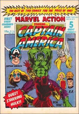 Marvel Action and Captain America #21, Iron Man vs Hulk