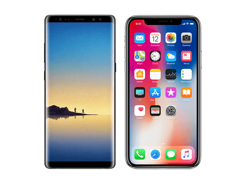 Samsung Note 8 Or Apple iPhone X: Which Is Better?