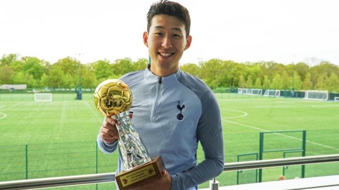 Hat-Trick of Awards for Best Footballer in Asia for Son