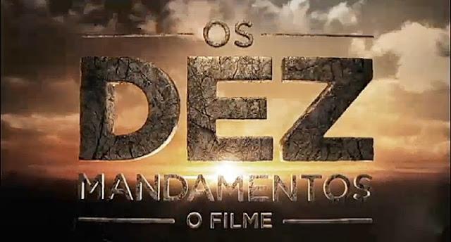 Resultado de imagem para os dez mandamentos filme brasil