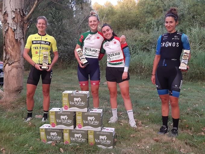 Lizzie Holden logró la primera victoria del año para el equipo Bizkaia - Durango