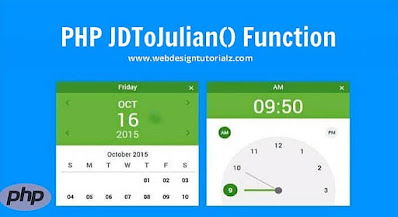 PHP jdtojulian() Function