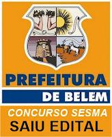 Concurso SESMA Belém