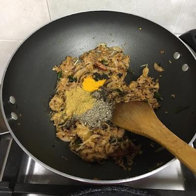 pepper chicken gravy step by step