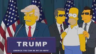 Kartun The Simpsons Viral Lagi Usai Trump Dinyatakan Positif Covid-19