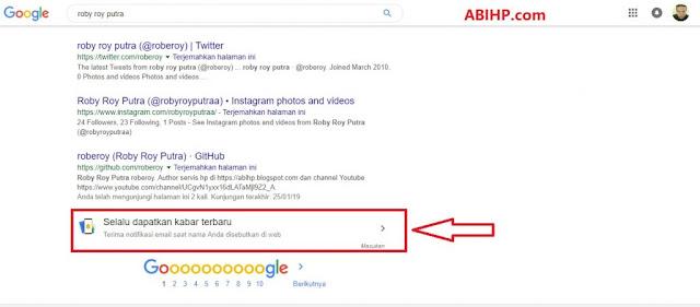 Cari Nama di Google
