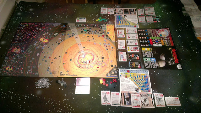 High Frontier: Colonization setup