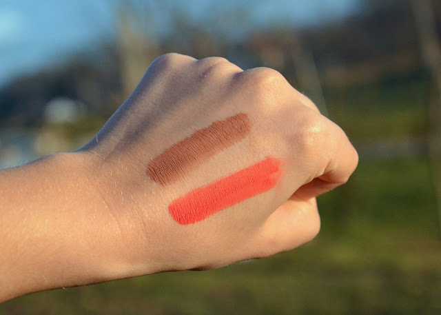 Essence Colour Boost Mad About Matte Liquid Lipstick 07 Seeing Red, 01 Dusty Romance