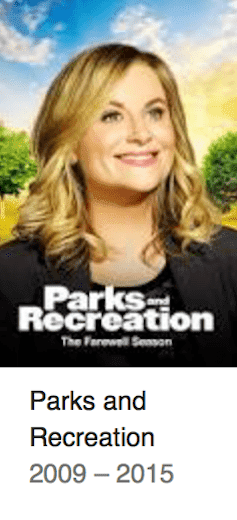 Best TV Shows Parks and Recreation