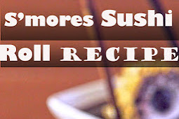 S'mores Sushi Roll Recipe
