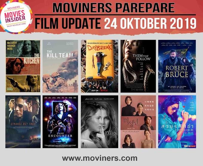 FILM UPDATE 24 OKTOBER 2019