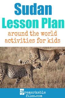 Building the perfect Sudan and South Sudan lesson plan for your students? Are you doing an around-the-world unit in your K-12 social studies classroom? Try these free and fun Sudanese activities, crafts, books, and free printables for teachers and educators! #sudan #southsudan #lessonplan #learning