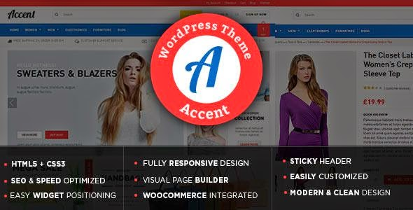 Accent - WooCommerce WordPress Theme